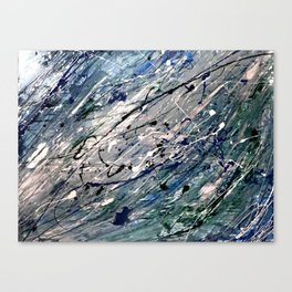 Silverstream Canvas Print