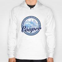 mini cooper Hoodies featuring Cooper by Barbo's Art