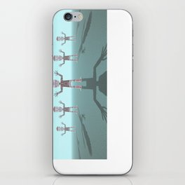 Characters Made of Stone iPhone Skin