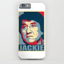 Jackie Chan Hope iPhone Case