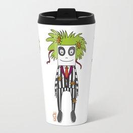 Beetle Juice Tribute Travel Mug