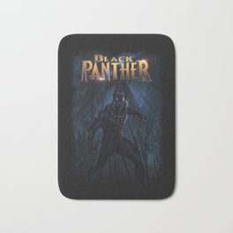 T'Challa , The Black Panther Bath Mat