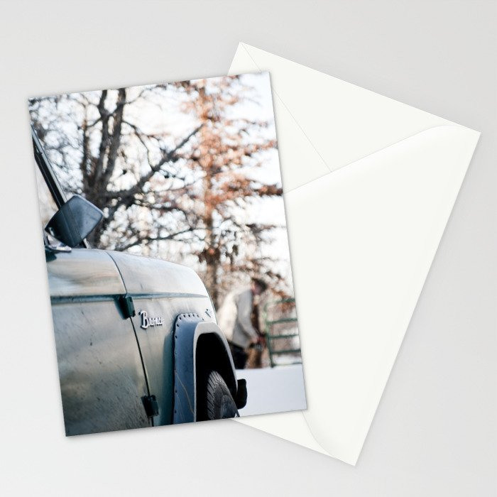Bronco Stationery Cards