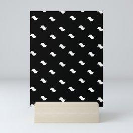 Sampa Black and White Mini Art Print
