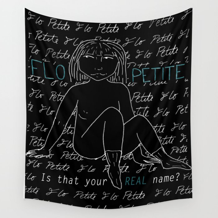 Flo Petite - My Body Wall Tapestry