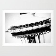 Space Needle...Seattle Art Print
