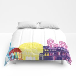 San Jose CR skyline pop Comforters