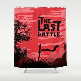 The last battle Shower Curtain
