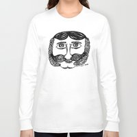larry Long Sleeve T-shirts featuring Larry by Addison Karl