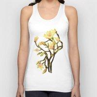 magnolia Tank Tops featuring Magnolia by Lara Paulussen