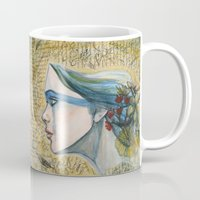 poetry Mugs featuring poetry by Melissa Wright