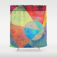 volleyball Shower Curtains featuring Beach Volleyball by Fernando Vieira