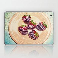 Retro-Sweet Sin ~ Chocolate-Covered Strawberries Laptop & iPad Skin