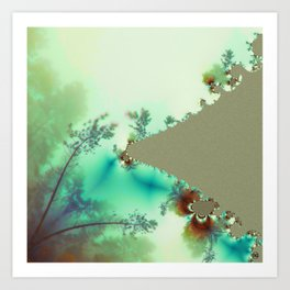 FractalForest/ Art Print