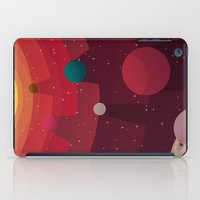 solar system iPad Cases featuring Solar System by badOdds