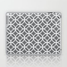 Charcoal Circles Laptop & iPad Skin