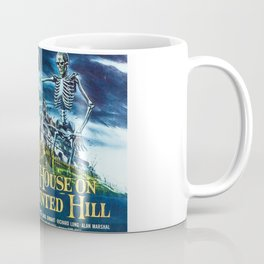 House on Haunted Hill, vintage horror movie poster Coffee Mug