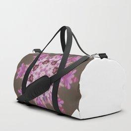 Lilac floral flake Duffle Bag