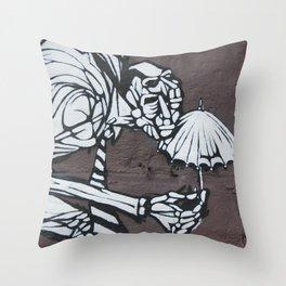 Bumbershoot Throw Pillow
