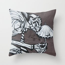 Bumbershoot Throw Pillow
