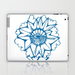 Brainstorm Blue Laptop & iPad Skin