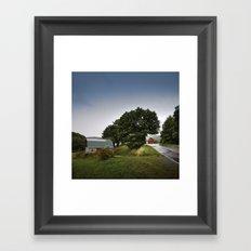 north carolina barnyards Framed Art Print