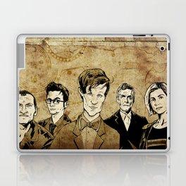 Doctor Who - Nine, Ten, Eleven, Twelve, and Thirteen Laptop & iPad Skin