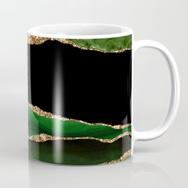 Emerald Marble Glamour Landscapes Coffee Mug