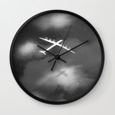 flight II Wall Clock