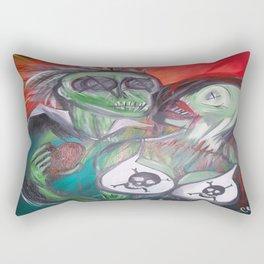 Zombie Lovers Rectangular Pillow