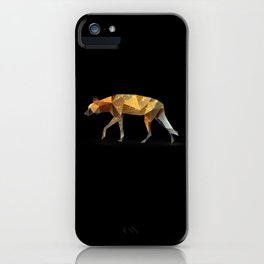 Wild African Dog. iPhone Case