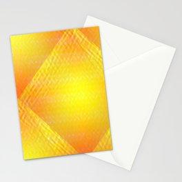 Sunshine Wave Pattern Stationery Cards