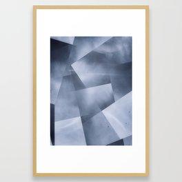 Cubist skies Framed Art Print