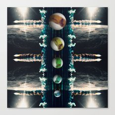 Rockets and Space and Stuff Canvas Print
