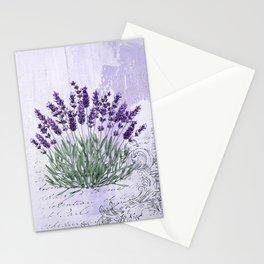 Lavender scent Stationery Cards