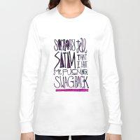 splatter Long Sleeve T-shirts featuring Splatter by Matt Smiroldo