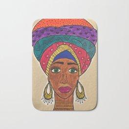 african roots Bath Mat