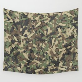 Forest alcohol camouflage Wall Tapestry