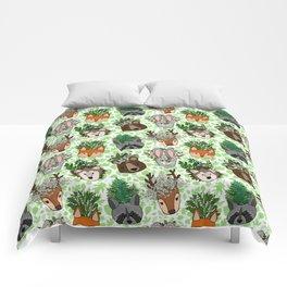 Woodland Wildflowers Animal Planters Comforters