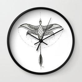 Microraptor 1 Wall Clock