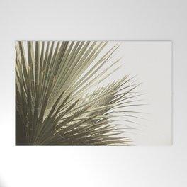 Palm Leaf Tropical Welcome Mat