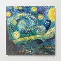 Tardis Art Starry Painting Night by desisusanti