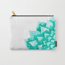 Watercolor Succulent Carry-All Pouch
