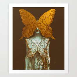 Transformation II Art Print