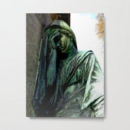 Statue #4 Metal Print