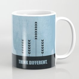 Lab No. 4 - Think Different ! Business Quotes poster Coffee Mug