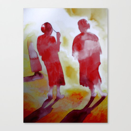 Sacred Fire Canvas Print