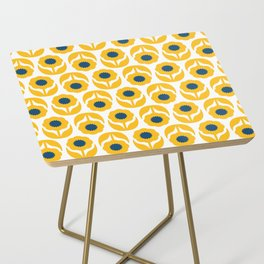 Joy collection- Yellow flowers Side Table