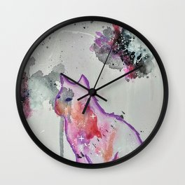 Kitty Heaven Wall Clock