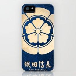 Oda Nobunaga kamon iPhone Case